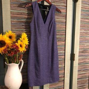 Banana Republic Violet Wool Sheath Dress
